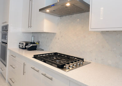 kitchen range clean design by decora