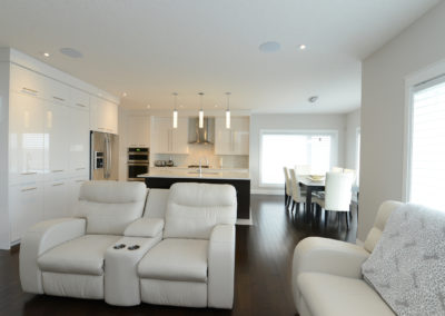 sanoma living area open concept